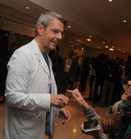 photo 421/711 - Lambert Wilson - Conférence de presse Vous n'avez encore rien vu - Cannes 2012 - 65ème Festival International Du Film De Cannes 2012 - © Isabelle Vautier pour CommeAuCinema.com