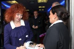 photo 418/711 - Sabine Azema - Conf�rence de presse Vous n'avez encore rien vu - Cannes 2012 - 65�me Festival International Du Film De Cannes 2012 - © Isabelle Vautier pour CommeAuCinema.com