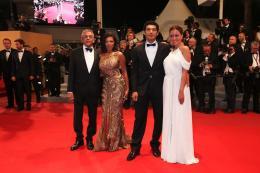 photo 315/711 - Yousry Nasrallah, Nahed El Sebai, Bassem Samra et Menna Shalaby - Pr�sentation du film Apr�s la bataille - Cannes 2012 - 65�me Festival International Du Film De Cannes 2012 - © Isabelle Vautier pour CommeAuCinema.com