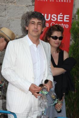 photo 131/711 - Alexander Payne et Emmanuelle Devos - Le D�jeuner du maire - Cannes 2012 - 65�me Festival International Du Film De Cannes 2012 - © Isabelle Vautier pour CommeAuCinema.com