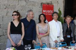 Andrea Arnold Le Déjeuner du maire - Cannes 2012 photo 10 sur 23