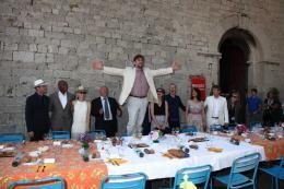 photo 128/711 - Nanni Moretti et le Jury - Le D�jeuner du maire - Cannes 2012 - 65�me Festival International Du Film De Cannes 2012 - © Isabelle Vautier pour CommeAuCinema.com
