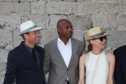 photo 124/711 - Ewan McGregor, Raoul Peck et Diane Kruger - Le D�jeuner du maire - Cannes 2012 - 65�me Festival International Du Film De Cannes 2012 - © Isabelle Vautier pour CommeAuCinema.com