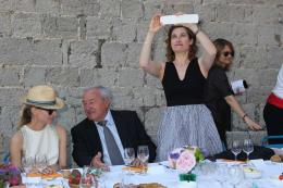 photo 129/711 - Diane Kruger et Emmanuelle Devos - Le Déjeuner du maire - Cannes 2012 - 65ème Festival International Du Film De Cannes 2012 - © Isabelle Vautier pour CommeAuCinema.com