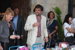 photo 127/711 - Andrea Arnold et Alexander Payne - Le Déjeuner du maire - Cannes 2012 - 65ème Festival International Du Film De Cannes 2012 - © Isabelle Vautier pour CommeAuCinema.com