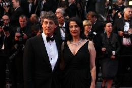photo 71/711 - Alexander Payne et Hiam Abbass - Présentation de Cosmopolis - Cannes 2012 - 65ème Festival International Du Film De Cannes 2012 - © Isabelle Vautier pour CommeAuCinema.com