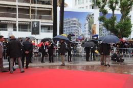 photo 134/143 - Oui, oui, il pleut - Cannes 2012 - Nos plus belles photos du Festival de Cannes 2012 ! - © Isabelle Vautier pour CommeAuCinema.com