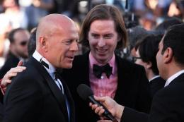 photo 75/143 - Bruce Willis et Wes Anderson r�pondent aux journalistes - Cannes 2012 - Nos plus belles photos du Festival de Cannes 2012 ! - © Isabelle Vautier pour CommeAuCinema.com