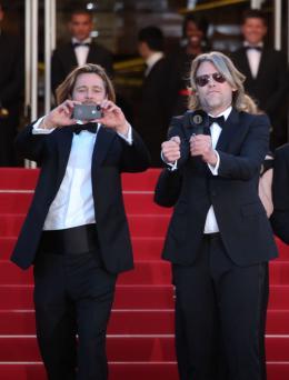 photo 34/143 - Séance photo pour Brad Pitt et le réalisateur Andrew Dominik - Cannes 2012 - Nos plus belles photos du Festival de Cannes 2012 ! - © Isabelle Vautier pour CommeAuCinema.com