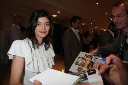 photo 12/143 - Audrey Tautou avant la conf�rence de presse de Th�r�se Desqueyroux - Nos plus belles photos du Festival de Cannes 2012 ! - © Isabelle Vautier pour CommeAuCinema.com