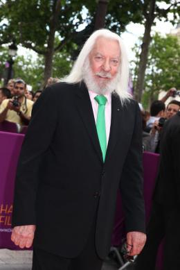 photo 2/13 - Donald Sutherland - Donald Sutherland au Champs-Elys�es Film Festival 2012