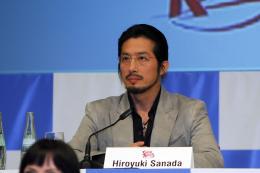 Hiroyuki Sanada Conférence de presse Speed Racer - Mai 2007 photo 9 sur 13