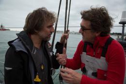 photo 10/31 - Christophe Offenstein et François Cluzet - En Solitaire - © Gaumont Distribution