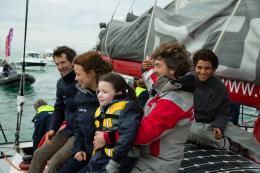 photo 9/31 - Guillaume Canet, Virginie Efira, Dana Prigent, François Cluzet et Samy Seghir - En Solitaire - © Gaumont Distribution