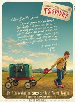 photo 24/25 - Affiche - L'extravagant voyage du jeune et prodigieux T.S. Spivet - © Gaumont Distribution
