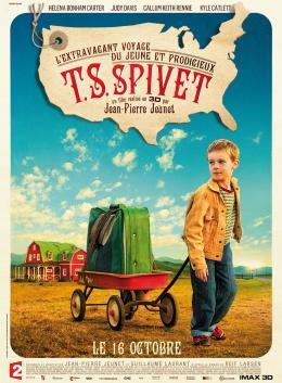 photo 25/25 - Affiche - L'extravagant voyage du jeune et prodigieux T.S. Spivet - © Gaumont Distribution