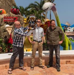 photo 15/36 - Cody Cameron, Kris Pearn, Neil Patrick Harris - L'Île des Miam-nimaux - Tempête de boulettes géantes 2 - © Sony Pictures