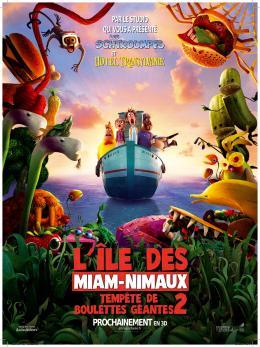 photo 35/36 - L'Île des Miam-nimaux - Tempête de boulettes géantes 2 - © Sony Pictures
