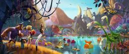 photo 5/36 - L'Île des Miam-nimaux - Tempête de boulettes géantes 2 - © Sony Pictures