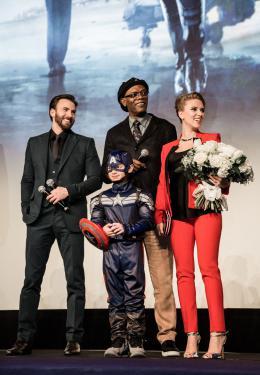 photo 39/153 - Chris Evans, Scarlett Johansson, Samuel L. Jackson - Captain America, le soldat de l'hiver - © Walt Disney Studios Motion Pictures France