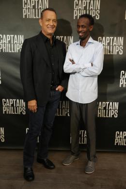 Barkhad Abdi Avant-Première - Capitaine Phillips photo 7 sur 16