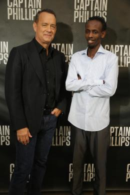 Barkhad Abdi Avant-Première - Capitaine Phillips photo 9 sur 16