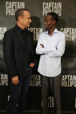 Barkhad Abdi Avant-Première - Capitaine Phillips photo 8 sur 16
