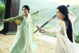 photo 9/13 - Shengyi Huang, Charlene Choi - Le Sorcier et le serpent Blanc - © F.I.P.
