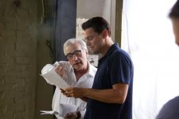 photo 12/41 - Leonardo DiCaprio, Martin Scorsese - Le Loup de Wall Street - © Metropolitan Film