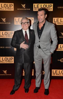 photo 15/41 - Martin Scorsese, Jean Dujardin - Le Loup de Wall Street - © Metropolitan Film