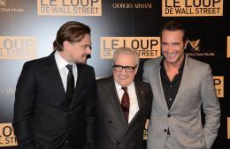 photo 30/41 - Leonardo DiCaprio, Martin Scorsese, Jean Dujardin - Le Loup de Wall Street - © Metropolitan Film
