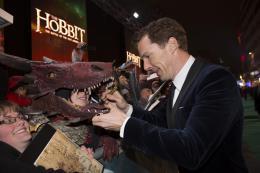 photo 79/125 - Benedict Cumberbatch - Avant-premi�re � Londres - Le Hobbit : La Bataille des Cinq Arm�es - © Warner Bros