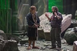 photo 58/125 - Martin Freeman, Peter Jackson - Le Hobbit : La Bataille des Cinq Arm�es - © Warner Bros