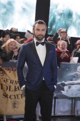 Aidan Turner Le Hobbit : La bataille des cinq arm�es - Avant-premi�re � Londres photo 1 sur 16