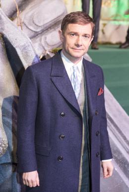 photo 66/125 - Martin Freeman - Avant-premi�re � Londres - Le Hobbit : La Bataille des Cinq Arm�es - © Warner Bros