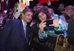 Martin Freeman Le Hobbit : La bataille des cinq arm�es - Avant-premi�re � Londres photo 1 sur 84