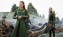 Le Hobbit : La Bataille des Cinq Arm�es Evangeline Lilly, Orlando Bloom photo 6 sur 125