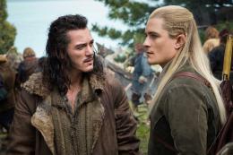 photo 43/125 - Luke Evans, Orlando Bloom - Le Hobbit : La Bataille des Cinq Armées - © Warner Bros