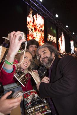 Peter Jackson Le Hobbit : La bataille des cinq arm�es - Avant-premi�re � Londres photo 6 sur 113