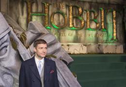 photo 84/125 - Martin Freeman - Avant-premi�re � Londres - Le Hobbit : La Bataille des Cinq Arm�es - © Warner Bros
