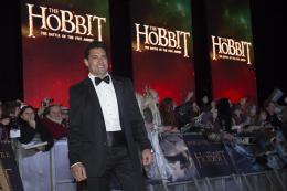 photo 92/125 - Manu Bennett - Avant-premi�re � Londres - Le Hobbit : La Bataille des Cinq Arm�es - © Warner Bros