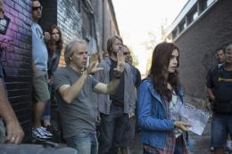 photo 6/52 - Harald Zwart, Lily Collins - The Mortal Instruments : la cité des ténèbres - © UGC