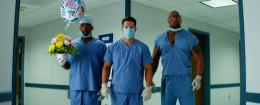 photo 18/35 - Anthony Mackie, Mark Wahlberg et Dwayne Johnson - No Pain No Gain - © Paramount