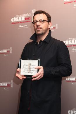 Cyril Mennegun Déjeuner des nommés, César 2013 photo 4 sur 6