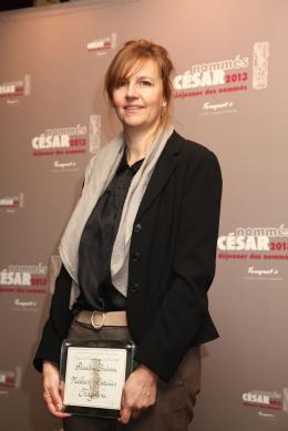 Pascaline Chavanne Déjeuner des nommés, César 2013 photo 2 sur 3