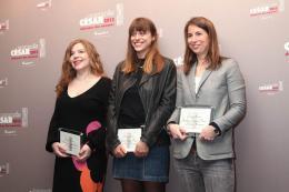 Alice Winocour Déjeuner des nommés, César 2013 photo 5 sur 6