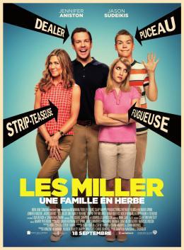 photo 57/61 - Affiche - Les Miller, une famille en herbe - © Warner Bros
