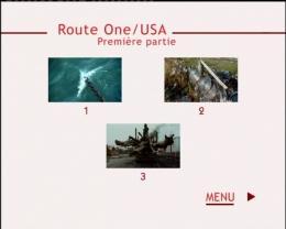 photo 2/2 - Menu Dvd - Route One USA - © Édition Montparnasse