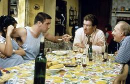 Le Bonheur Est Dans Le Pré Virginie Darmon, Eric Cantona, Eddy Mitchell et Michel Serrault photo 2 sur 11