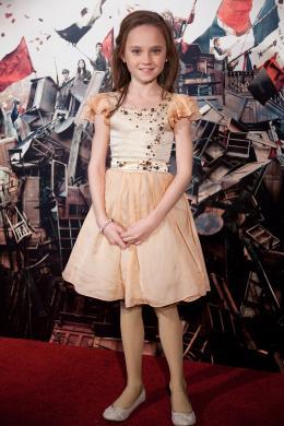 Isabelle Allen Avant-première du film Les Misérables à Londres photo 6 sur 8